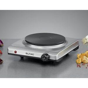 ELTAC EK 19 inox unique plaque de cuisson 1500 watt réglage en continu de régime  </span>