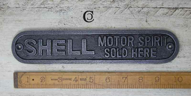Iron Shell Motor Spirit Plaque