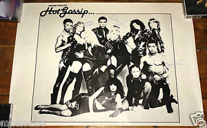 Arlene Phillips Hot Gossip Promotional Poster 1979 Signed By Roy