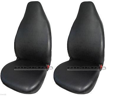 Kunstleder Werkstattschoner Zweierset Sitzbezüge passend für Audi