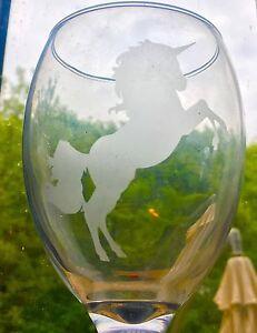 Unicorn Silhouette Stencil