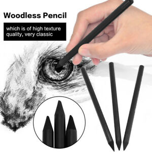 Woodless-Hard-Medium-Soft-Drawing-Tool-Carbon-Pens-Painting-Charcoal-Pencil
