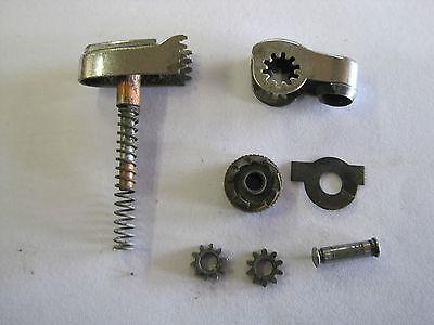 Lighter repair kit Ronson Standard Whirlwind snuffer plunger flintwheel gears