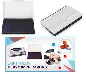Timbres craft ink pad pour papier bois tissu noir ou violet stamp pad 90x60mm-afficher le titre d`origine hUBA4WRL-07203348-566449530