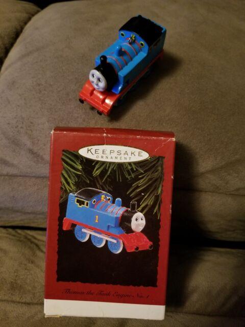 HALLMARK CHRISTMAS ORNAMENT Thomas The Tank Engine #1 ...