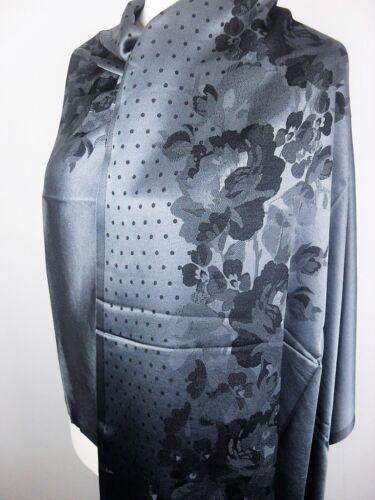 Pashmina Schal Tuch Stola Hijab 55/% Viskose /& 45/% Polyacyrl Grau ca.183x70cm