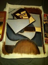 Elvis Presley 16x24 Abstract Cubism Painting Tommervik #2
