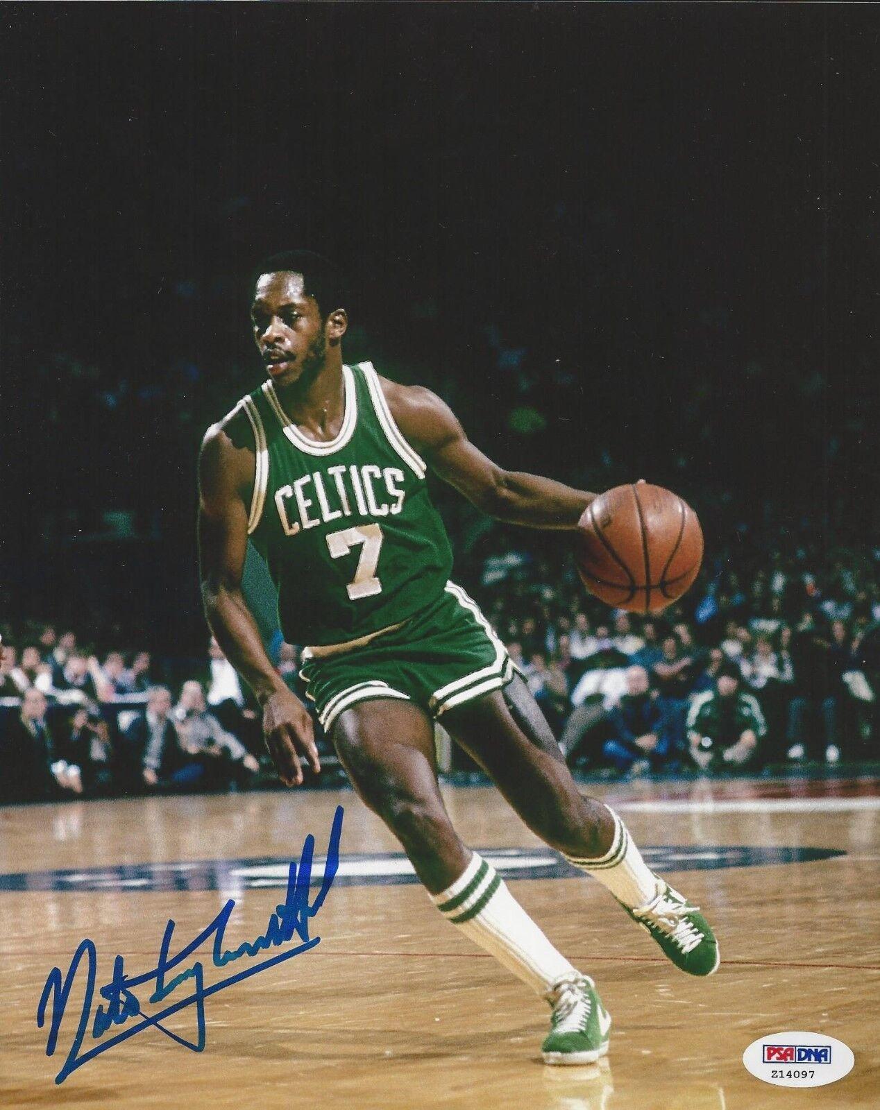 Nate Tiny Archibald signed 8x10 photo PSA/DNA # Z14097