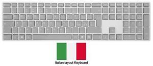 Microsoft Surface Grey Wireless Bluetooth Italian QWERTY Keyboard