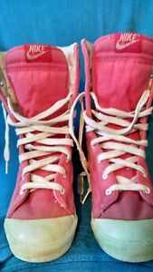 80s-Nike-Canvas-HI-Top-Athletic-Sneakers-Vintage-1980-s-Sport-Rare-OG-Shell