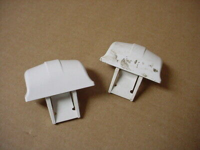 GE Refrigerator Door Shelf Cap Lot of 2 Part # WR2X7671 WR2X9162