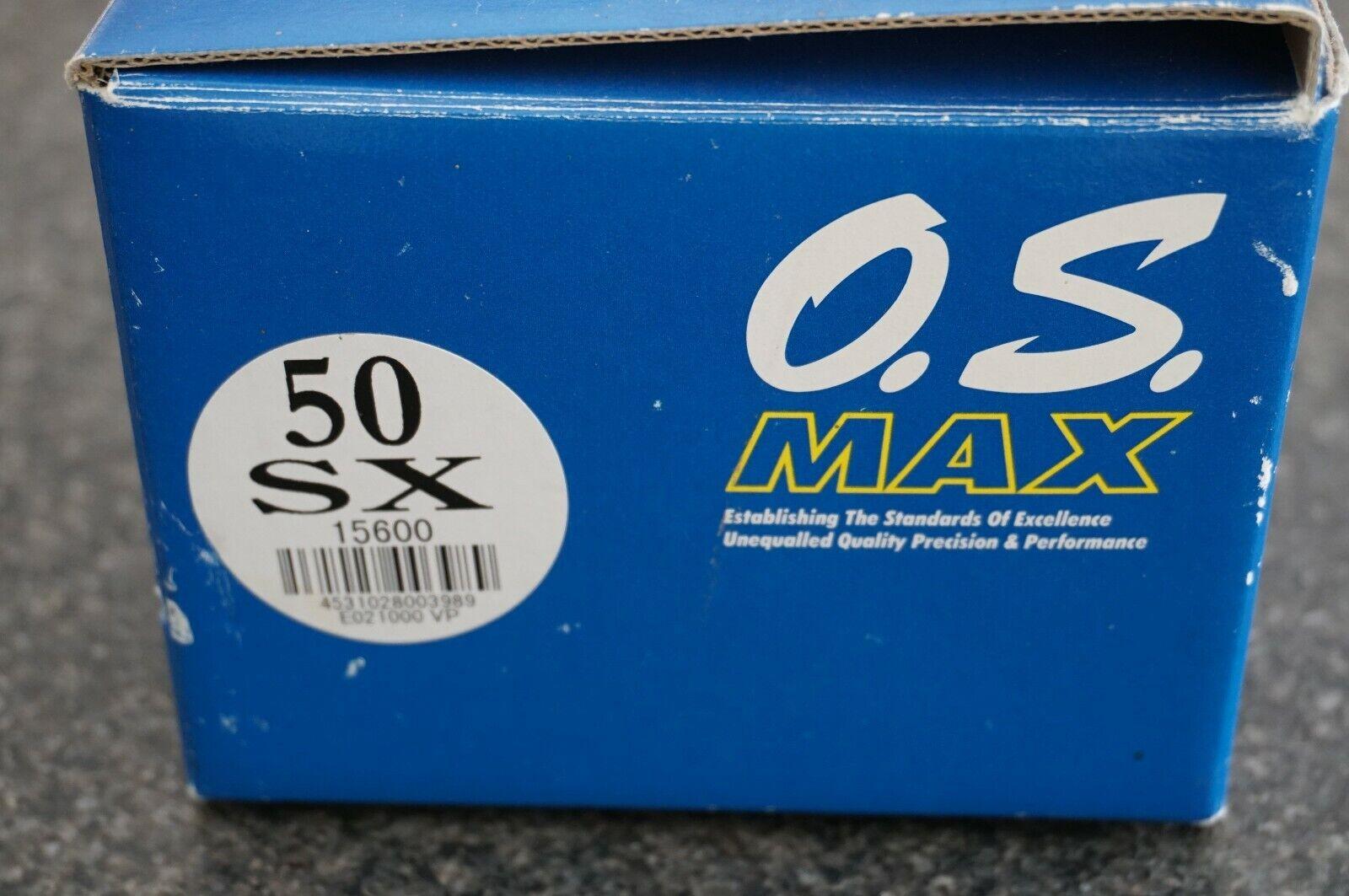 OS Max 50 SX Nitro Glow Engine