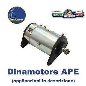Dinamotore Grabor Piaggio APE CAR P2 P3 220 cc 1978 / 1985 Telaio AF3T