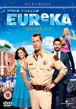 A TOWN CALLED EUREKA - SEASON 3 - DVD - REGION 2 UK