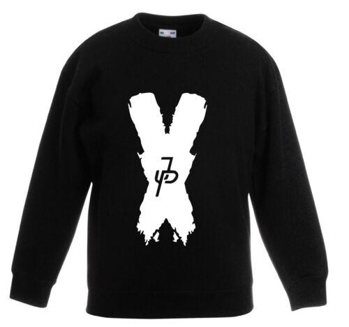 JP x sweatshirt CHILDRENS JUMPER kids logang logan top youtube jake paul team 10