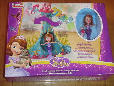 Cheap Sale New & Sealed Disney Junior Sofia Sea Swimming Playset Il Mondo Sottomarino Di Clients First Disney