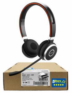 Jabra Evolve 65 MS Stereo Wireless Headset (6599-823-309) - Brand New