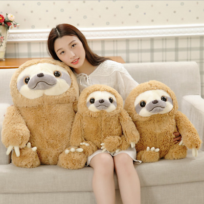 40cm Cute Animal Giant Sloth Stuffed Plush Doll Soft Toys Pillow Cushion Gifts