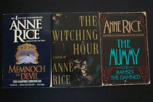 Anne Rice Vampire Novels 5 Book Trade Paperback Lot 978