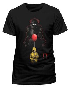 IT 'Lurking Clown' (Black) T-Shirt - NEW & OFFICIAL!