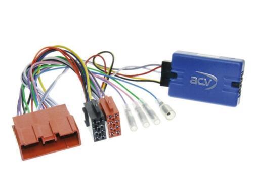 JVC KFZ Radio Adaptador de volante Mazda 3 sin de sonido Bose BK