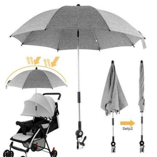 Große Baby Sonnenschirm Buggy Kinderwagen Kinderwagen Schatten Baldachin DE