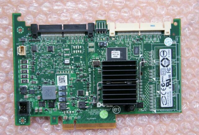 No Bracket SAS RAID Controller Dell T954J Perc 6i E2k-UCP-61- B