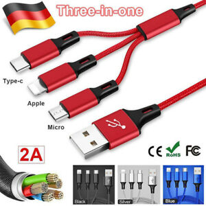 Universal-3-in1-USB-Multi-Fast-Ladekabel-Kabel-Fuer-Samsung-Galaxy-S8-S9-S8-S9