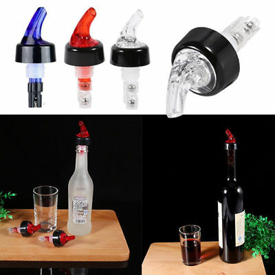 30ml Bottle Pourer Spout Stopper Dispenser Liquor Flow Wine Olive Oil UK