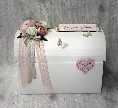 Unter Der Voraussetzung Geschenketruhe, Geldgeschenke Hochzeit,rosa-nude 70003