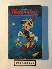 Pinocchio,Walt Disney,Black Diamond,Big Label,Vhs,englisch,Selten,Rare,Top,Rare