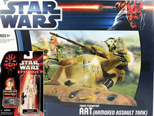 Star Wars AAT (Armoured Assault Tank) - OOM9 Action Figures and Tank