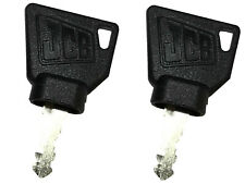 Two 2 Jcb Heavy Construction Equipment Ignition Keys With Oem Logo