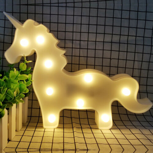 3D Star Moon Animal LED Night Light Table Wall Lamp Baby Kids Gift Bedroom Decor