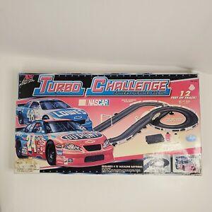 Nascar Turbo Challenge Battery Operated Slot Racing Set #9441 Sealed New
