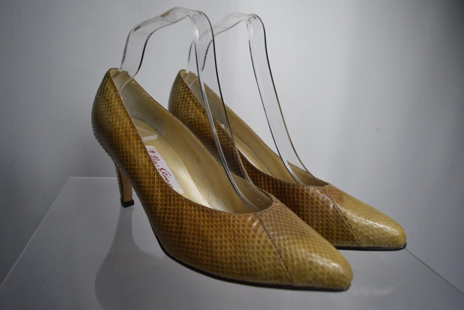 VINTAGE LILLEY & SKINNER SNAKESKIN shoes Heels size UK 6