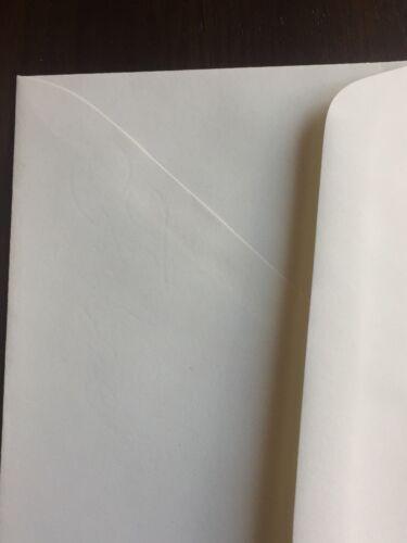 AMPAD Gold Fibre Envelops No.10 25/% Cotton Watermarked 24 LB Heavyweight Cream