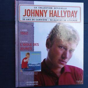 Details Sur Johnny Hallyday Collector Livre Cd 1962 L Idole Des Jeunes 22 5 X 18 Cm Colll