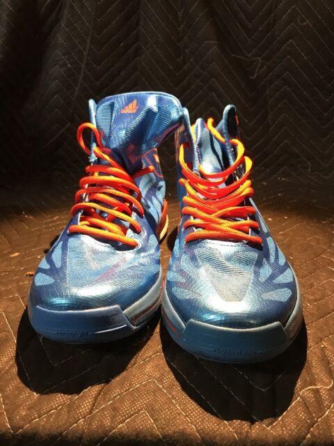 961e95c0be78 adidas Adizero Crazy Light 2 Sz 12 Blue Orange White G59169 Derrick ...