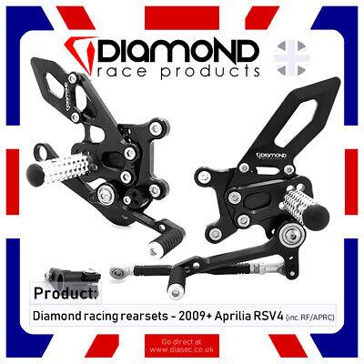 DIAMOND RACE PRODUCTS HONDA CBR1000 RR FIREBLADE 2008 /'08 REARSET FOOTREST KIT