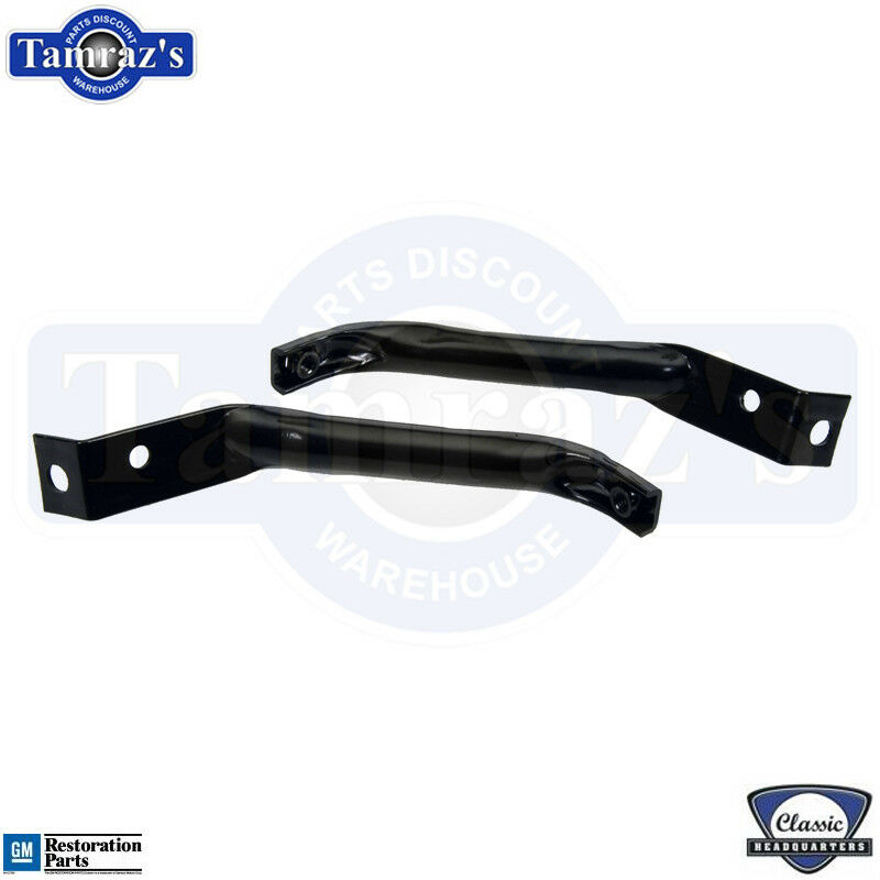 1970-1973 Camaro for RS ONLY Front Bumper /& Nose Bracket Mount Support Set CHQ