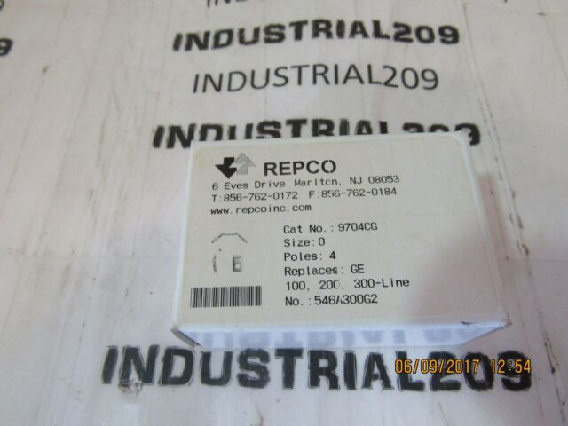 Awesome Repco General Electric Size 0 9704Cg Contact Kit 4 Pole Ebay Wiring Database Brom4X4Andersnl