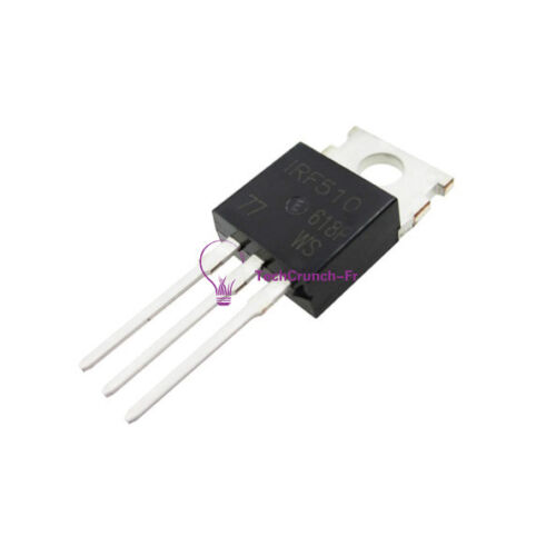 5PCS IRF510NPBF IRF510N IRF510 Power MOSFET N-Channel 5.6A 100V NEW
