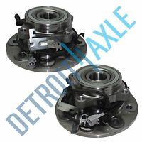 Both (2) Front Wheel Hub & Bearing Assembly For Dodge Ram 2500 4wd W/abs