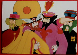 THE BEATLES - YELLOW SUBMARINE - Card #53 - Not Since Snow White - Duocards 1999