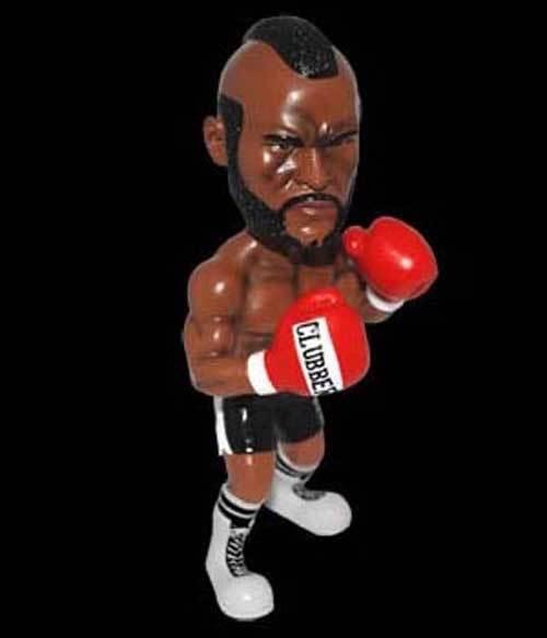 Hollywood Studios Rocky 8 Clubber Laing figura estatua, años 70 Boxeo pelicula peli