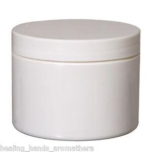 2x-150g-2x-100g-2x-50g-White-Heavy-Duty-Plastic-Jars