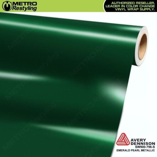 Avery SW900-796-S GLOSS PEARL DARK GREEN Vinyl Vehicle Car Wrap Decal Film Roll