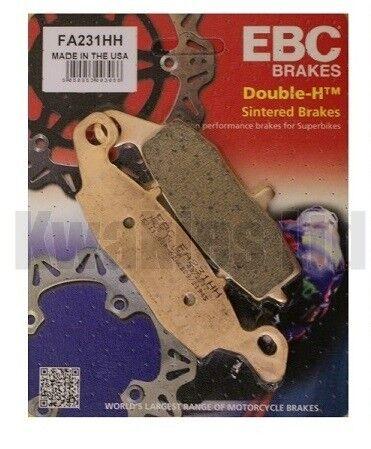EBC Sintered HH Front Brake Pads FA231HH for Suzuki GS500E ET-EZ 1996-2000
