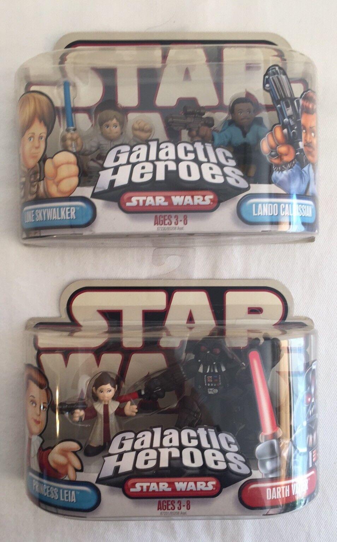 Star - wars - galaktischen helden 2004 neue prinzessin leia luke skywalker darth vader
